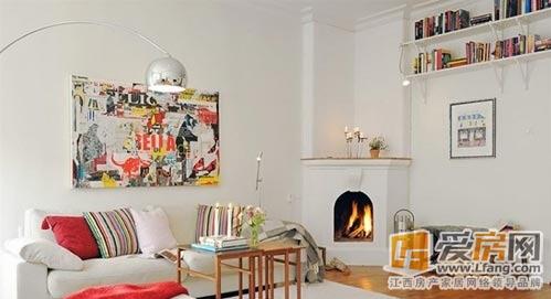 客厅搭配效果图展示 诠释北欧家装风格