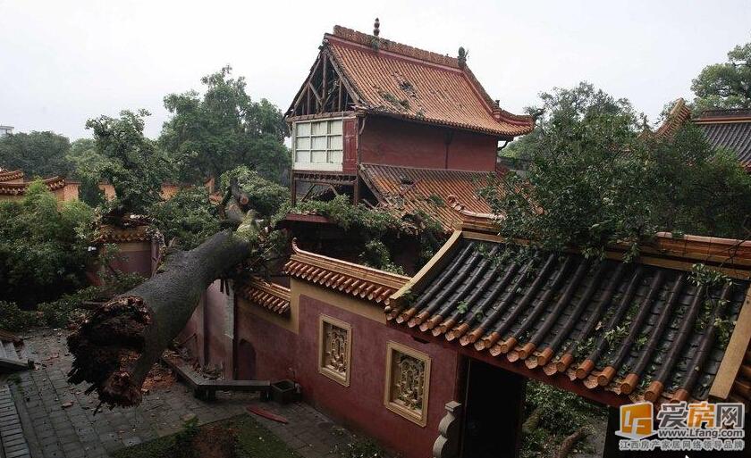 完整地展现了中国古代建筑气图片