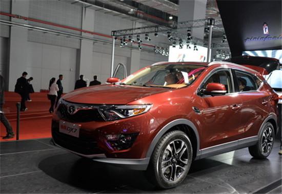 东南汽车首款SUV车型DX7有望于7月25日上市高清图片