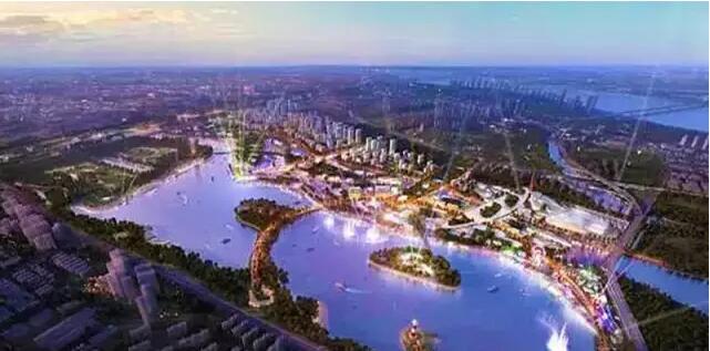 整体规划以大象湖景区为基础,协调周边文化旅游资源,投资建设涵