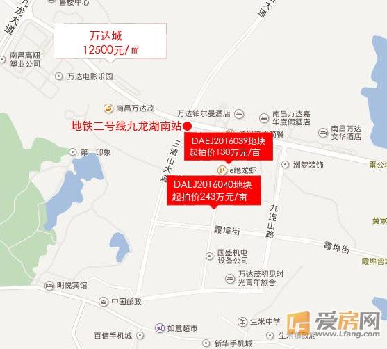 九龙湖再推两宗地块 或建滨江国际温泉城度假村