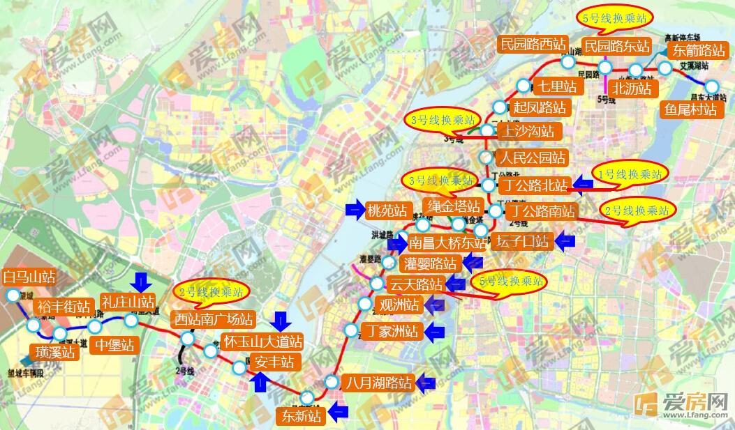 地铁4号线终于要来了!改变南昌格局楼市!打捞筒式卡瓦篮图纸图片