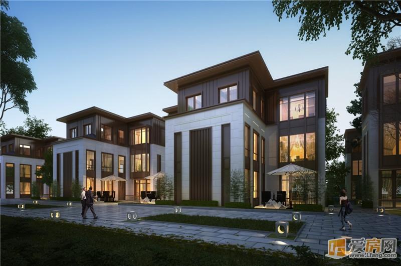 一个只卖别墅的新盘-别墅天著湾里新中式纯远洋院落来袭!十一米六别墅装修图片