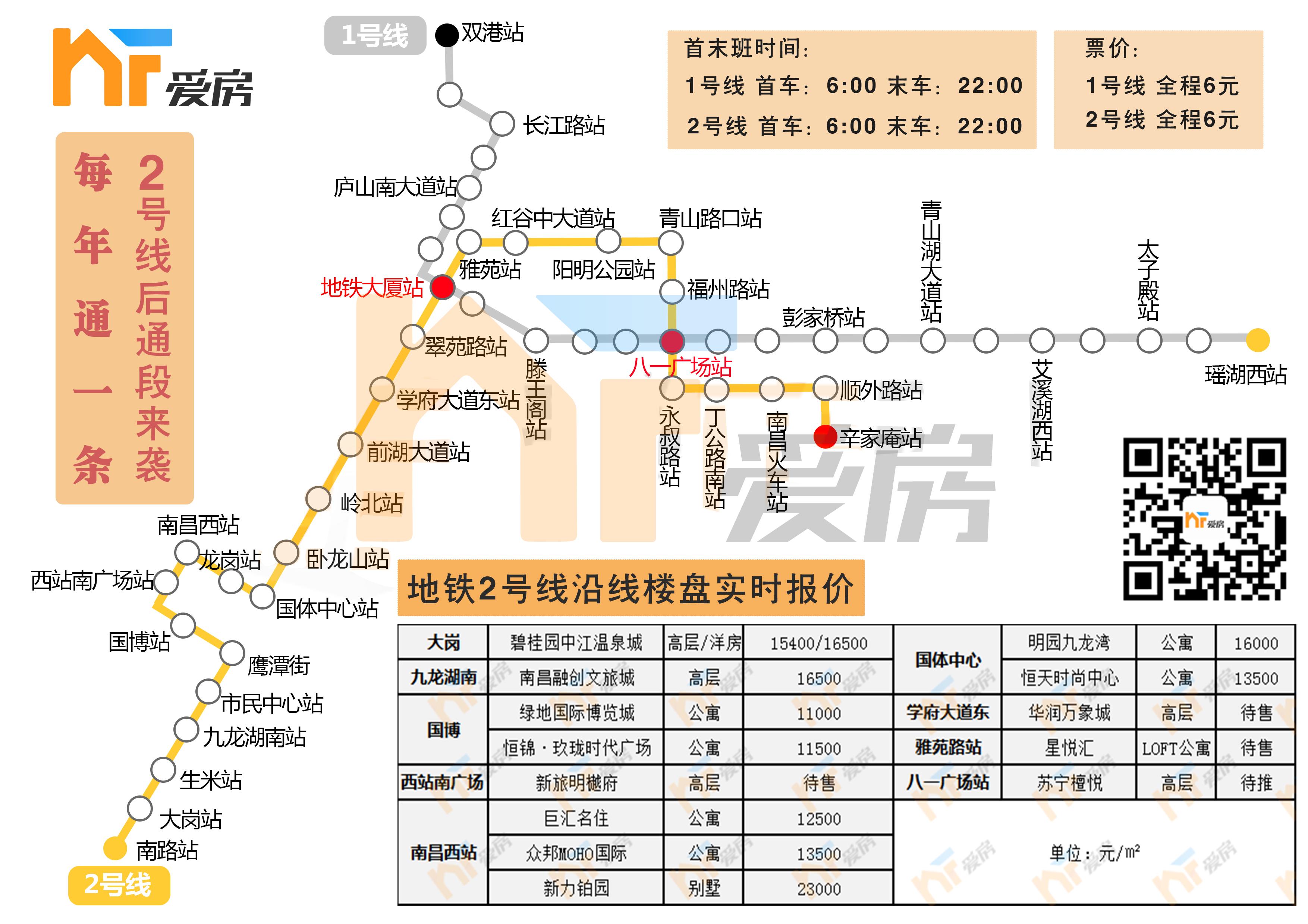 地铁2号线站点图