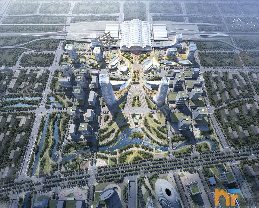 南昌东站站城一体实施性城市设计3.jpg