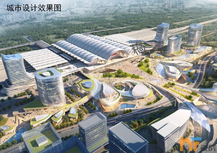 《【恒煊招商】2023年完工!南昌东站站城一体实施性城市设计方案出炉!》