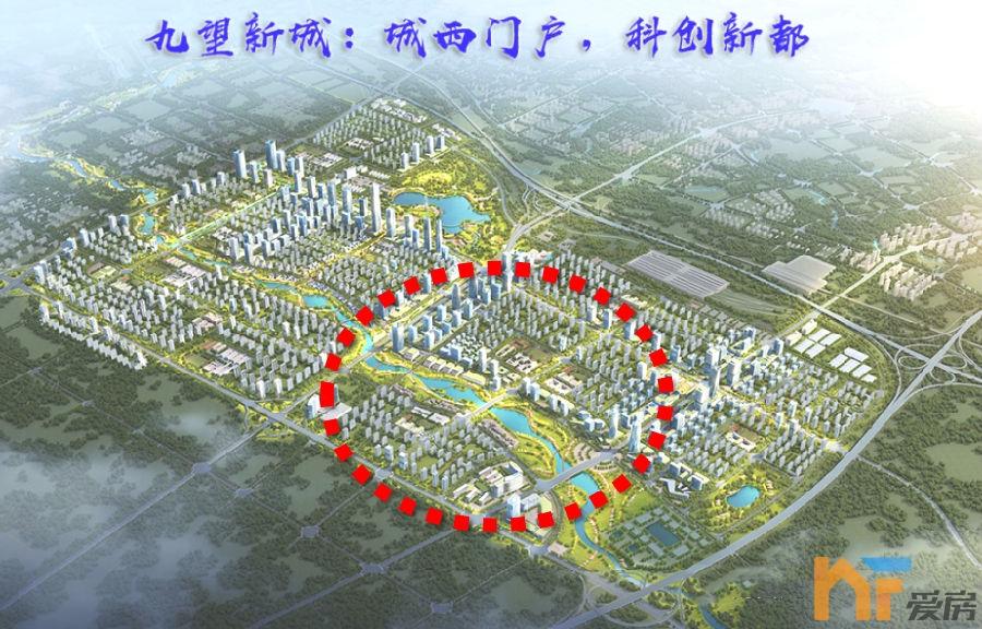九龙湖西以西:46.46万㎡建筑体量先行启动!5.png