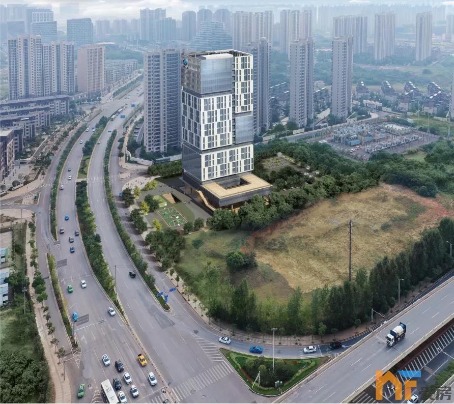 天悦首页最新!九龙湖南水大厦现场有新动作!