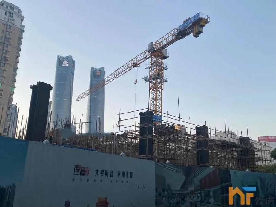 天悦首页2022年竣工!南昌嘉里中心二期超高层全面进入主体施工!