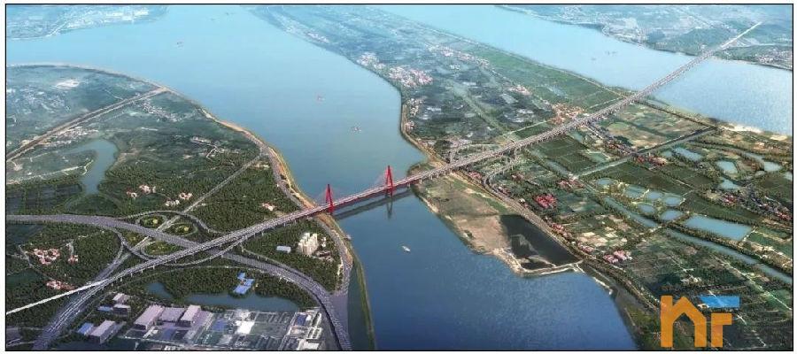 天悦首页昌九高铁最新规划出炉!公铁合建大桥最新设计方案来了!
