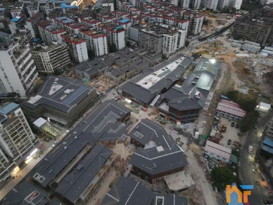 天悦首页2022年年初开街!南昌这个历史文化街区即将完工!