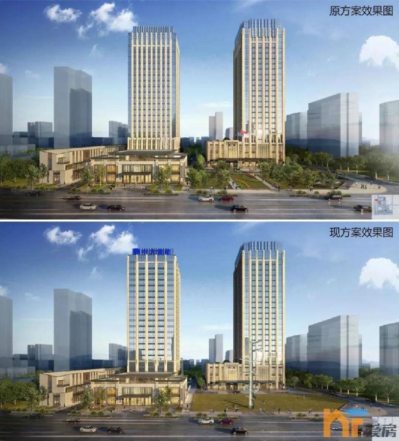 天悦首页最新!象湖东岸这个五星级酒店、办公项目规划有调整!